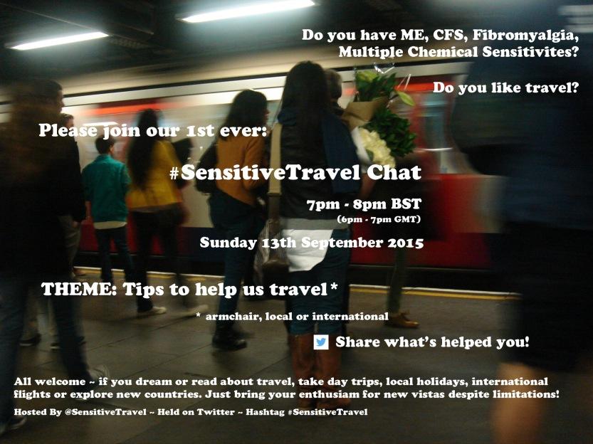 #SensitiveTravel Chat Details